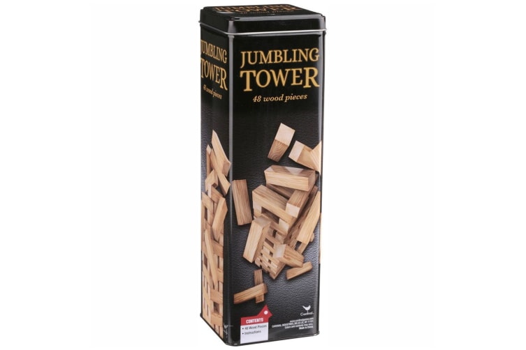 CARDINAL JUMBLING TOWER TIN | Toyworld Frankston | Toyworld Frankston