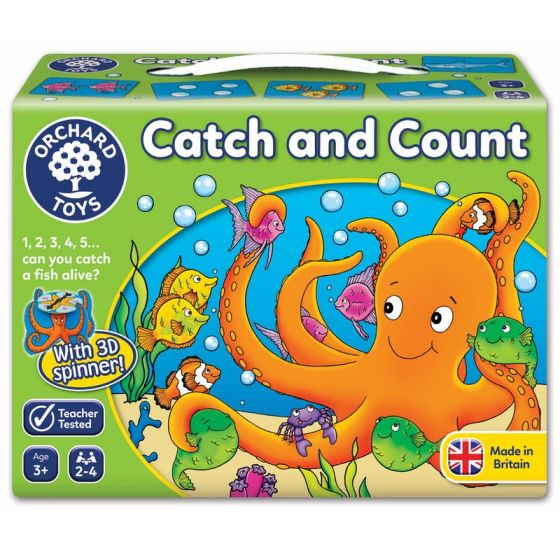 ORCHARD GAME - CATCH AND COUNT | ORCHARD TOYS | Toyworld Frankston