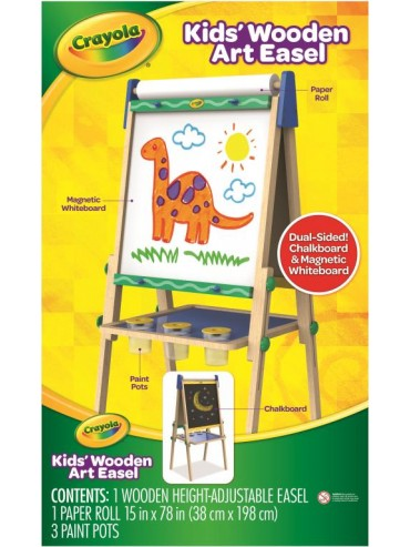CRAYOLA 3-IN-1 DOUBLE SIDED EASEL 5047-12 | CRAYOLA | Toyworld Frankston