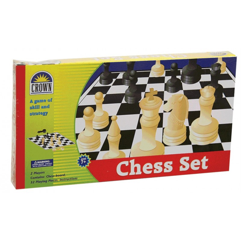 CHESS SET CROWN | Toyworld Frankston | Toyworld Frankston