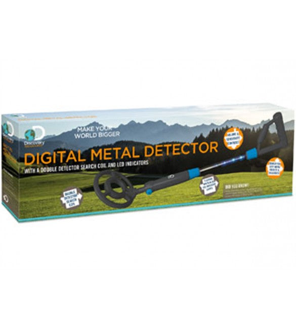 DISCOVERY ADVENTURES - LED DIGITAL METAL DETECTOR