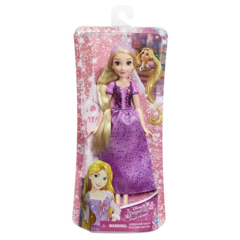 DISNEY PRINCESS ROYAL SHIMMER DOLL - RAPUNZEL