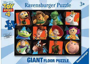 RAVENSBURGER - DISNEY TOY STORY 4 GIANT PUZ 24PC | RAVENSBURGER | Toyworld Frankston