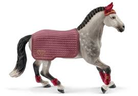 SCHLEICH FRISIAN STALLIEN RIDING TOURNAMENT
