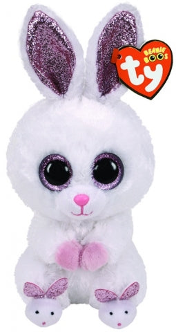 BEANIE BOOS EASTER SLIPPERS RABBIT REG - Toyworld Frankston