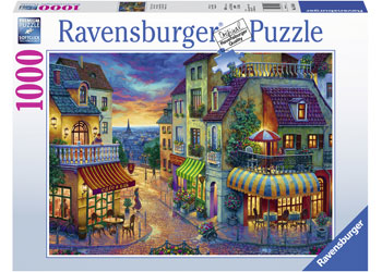 RAVENSBURGER - AN EVENING IN PARIS PUZZLE 1000PC | RAVENSBURGER | Toyworld Frankston