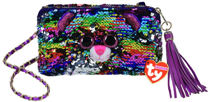 TY GEAR SEQUIN DOTTY PURSE SQUARE