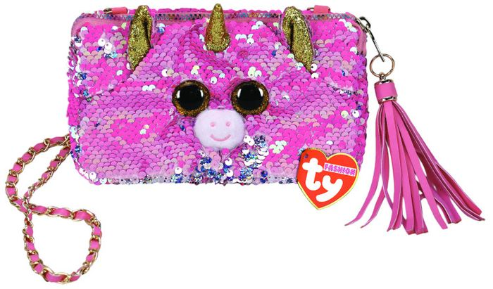 TY GEAR SEQUINS FANTASIA PURSE SQUARE