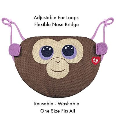 TY BEANIE BOOS MASK -COCONUT