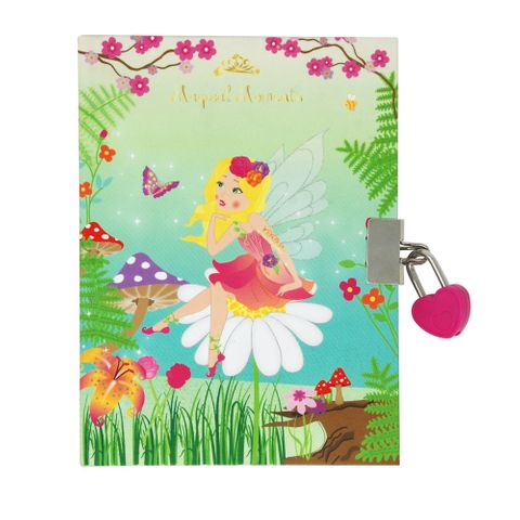 FOREST FAIRY SCENTED LOCKABLE DIARY