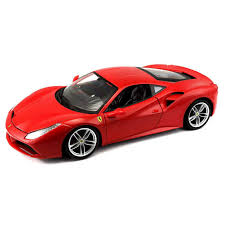 BB 1:18 FERRARI SIGNATURE 488 GTB - RED