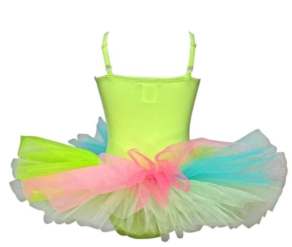 FOREST FAIRY TUTU DRESS 3/4 GREEN