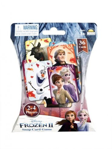 SNAP CARD GAME FROZEN | DISNEY | Toyworld Frankston