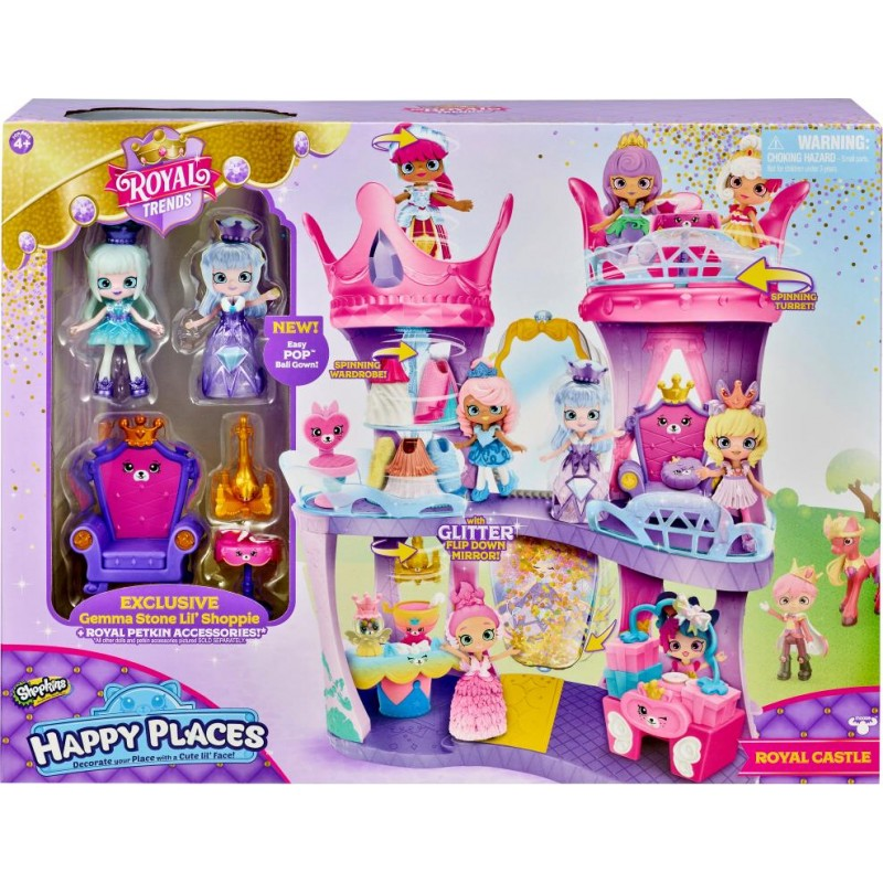 SHOPKINS HAPPY PLACES S7 ROYAL CASTLE PLAY SET