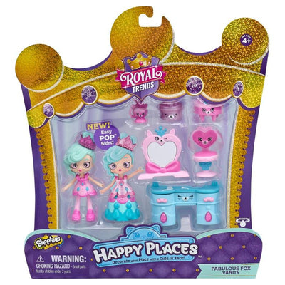 SHOPKINS HAPPY PLACES S7 WELCOME PK - FABULOUS FOX