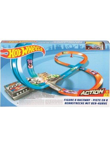 HOT WHEELS ACTION FIGURE 8 RACEWAY | HOT WHEELS | Toyworld Frankston