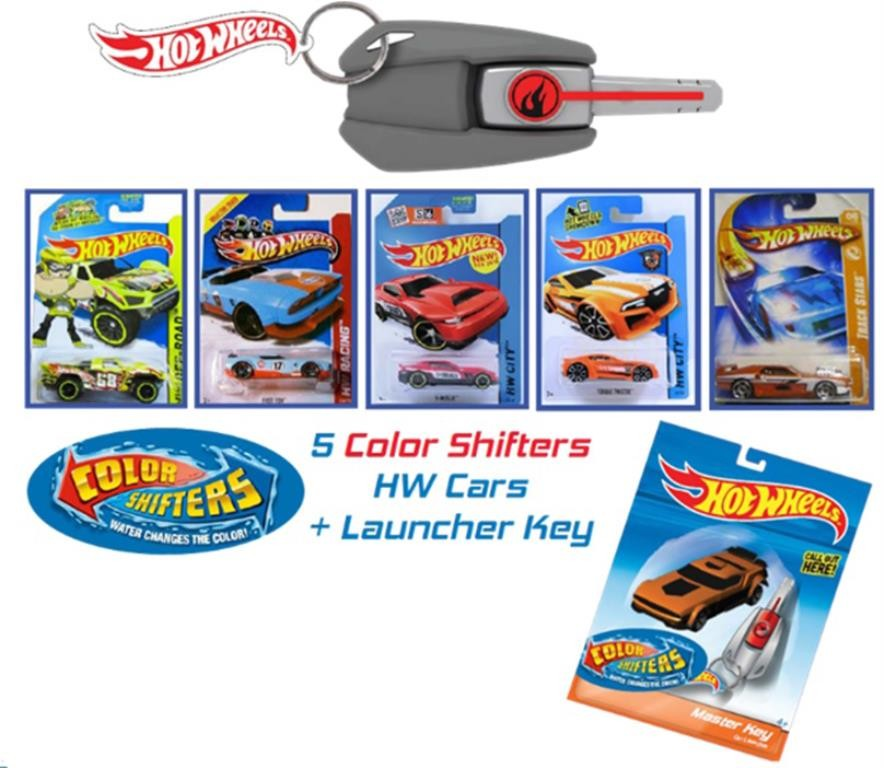 HOT WHEELS KEY CARS