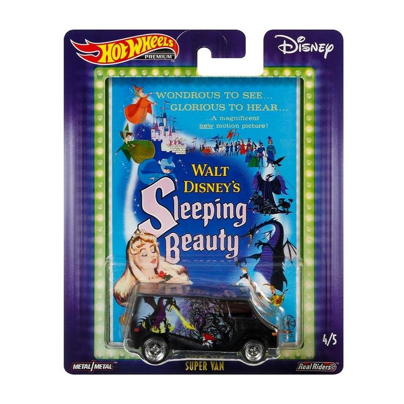 HOT WHEELS POP CULTURE - SLEEPING BEAUTY