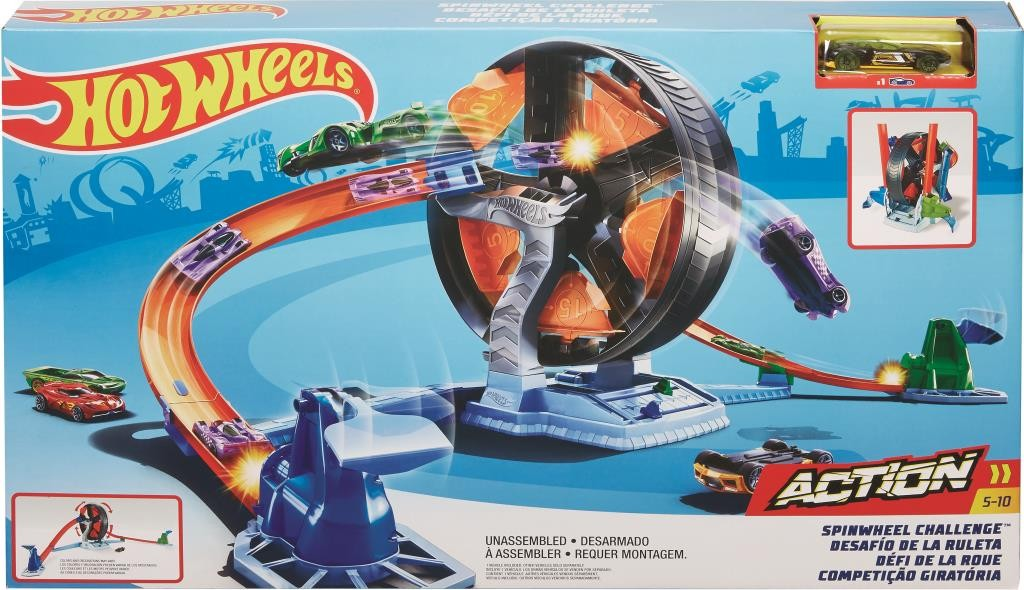HOT WHEELS SPINWHEEL CHALLENGE | HOT WHEELS | Toyworld Frankston
