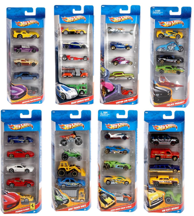 HOT WHEELS 50TH ANNIVERSARY 5 PACK | HOT WHEELS | Toyworld Frankston