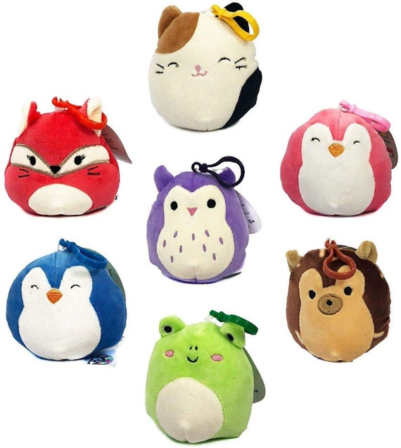 SQUISHMALLOWS 3.5 INCH CLIP ON DOGS ASST