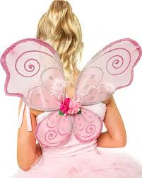 PINK FAIRY BLOSSOM WINGS