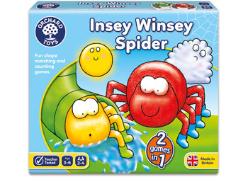 ORCHARD GAME - INSEY WINSEY SPIDER | ORCHARD TOYS | Toyworld Frankston