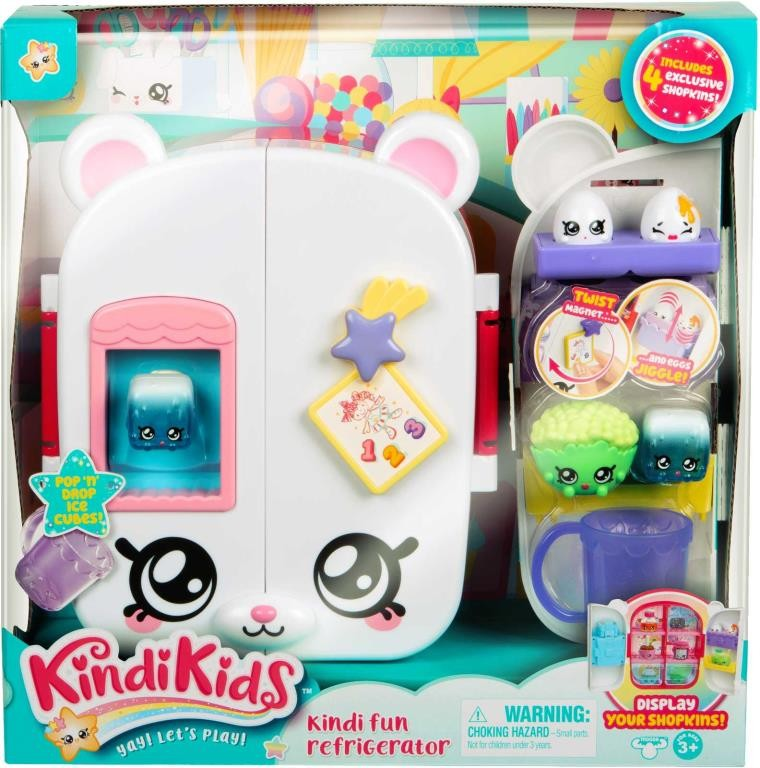 KINDI KIDS S1 KINDI FUN REFRIDGERATOR