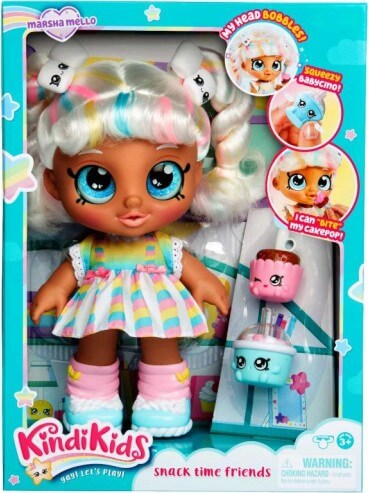 KINDI KIDS S1 TODDLER DOLL SINGLE PACK - MARSHA MELLO