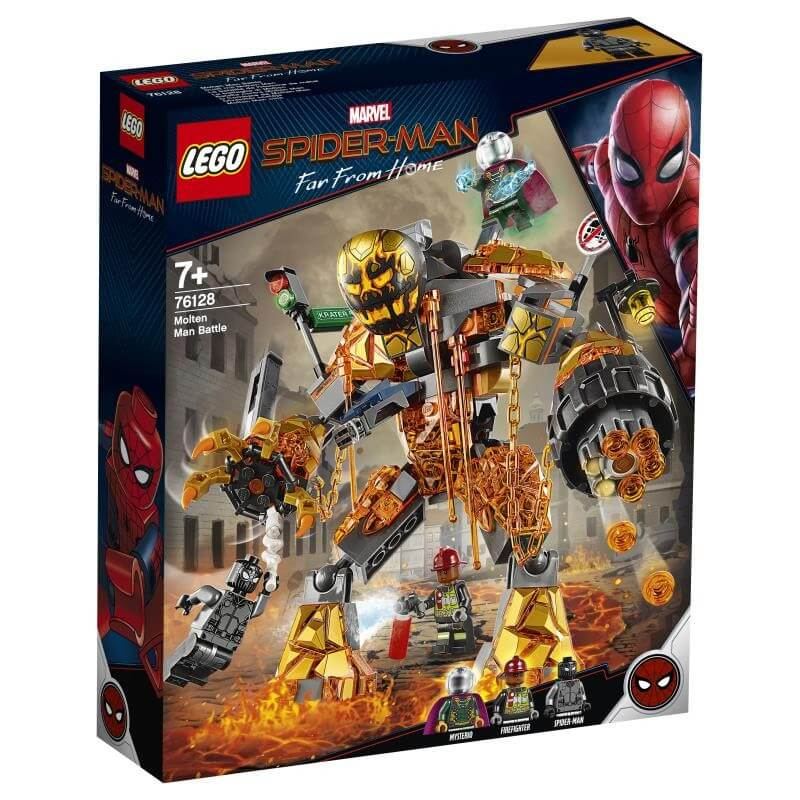 LEGO 76128 MOLTEN MAN BATTLE | LEGO | Toyworld Frankston