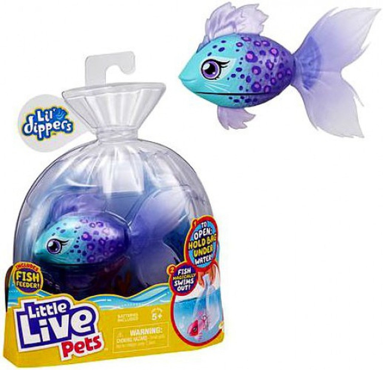 LITTLE LIVE PETS LIL DIPPERS SINGLE PACK