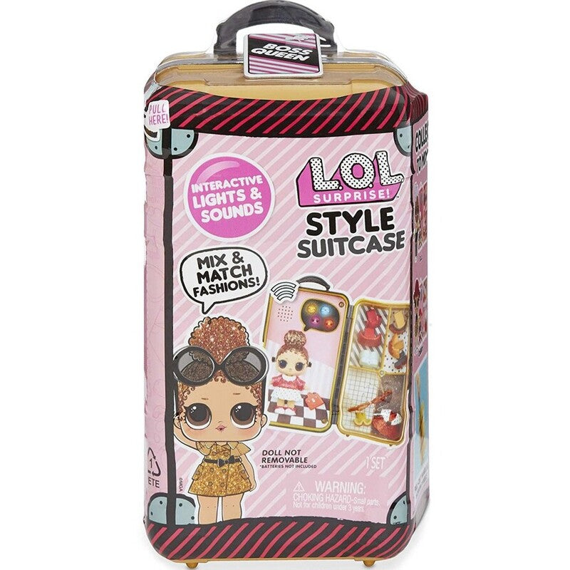 LOL SURPRISE SUITCASE STYLE ASSORTED BOSS QUEEN | LOL | Toyworld Frankston