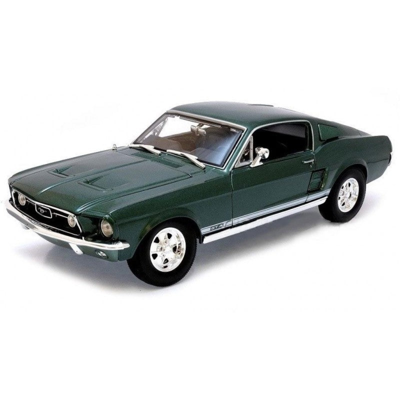 MAI18 1967 FORD MUSTANG FASTBACK GREEN