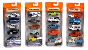 MATCHBOX 5 PACK BASICS ASST - Toyworld Frankston