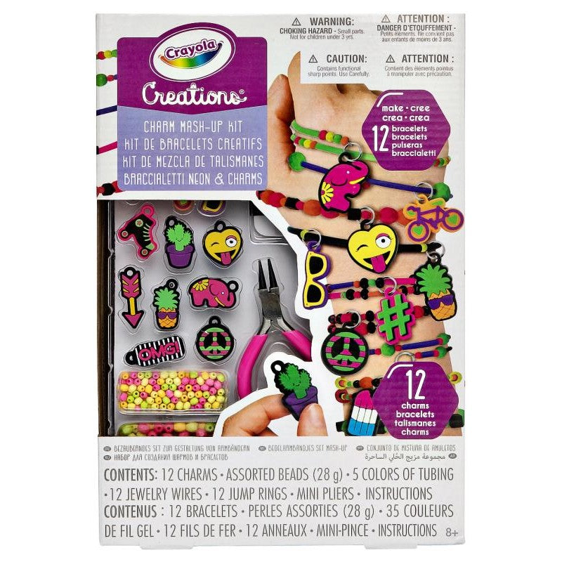 CREATIONS NEON MASH UP KIT | CRAYOLA | Toyworld Frankston