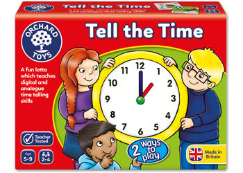 ORCHARD TOYS - TELL THE TIME LOTTO | ORCHARD TOYS | Toyworld Frankston