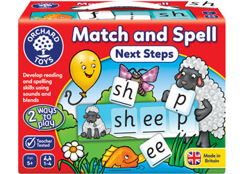 ORCHARD GAME - MATCH & SPELL NEXT STEPS | ORCHARD TOYS | Toyworld Frankston