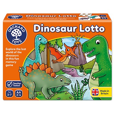 ORCHARD GAME - DINOSAUR LOTTO | ORCHARD TOYS | Toyworld Frankston