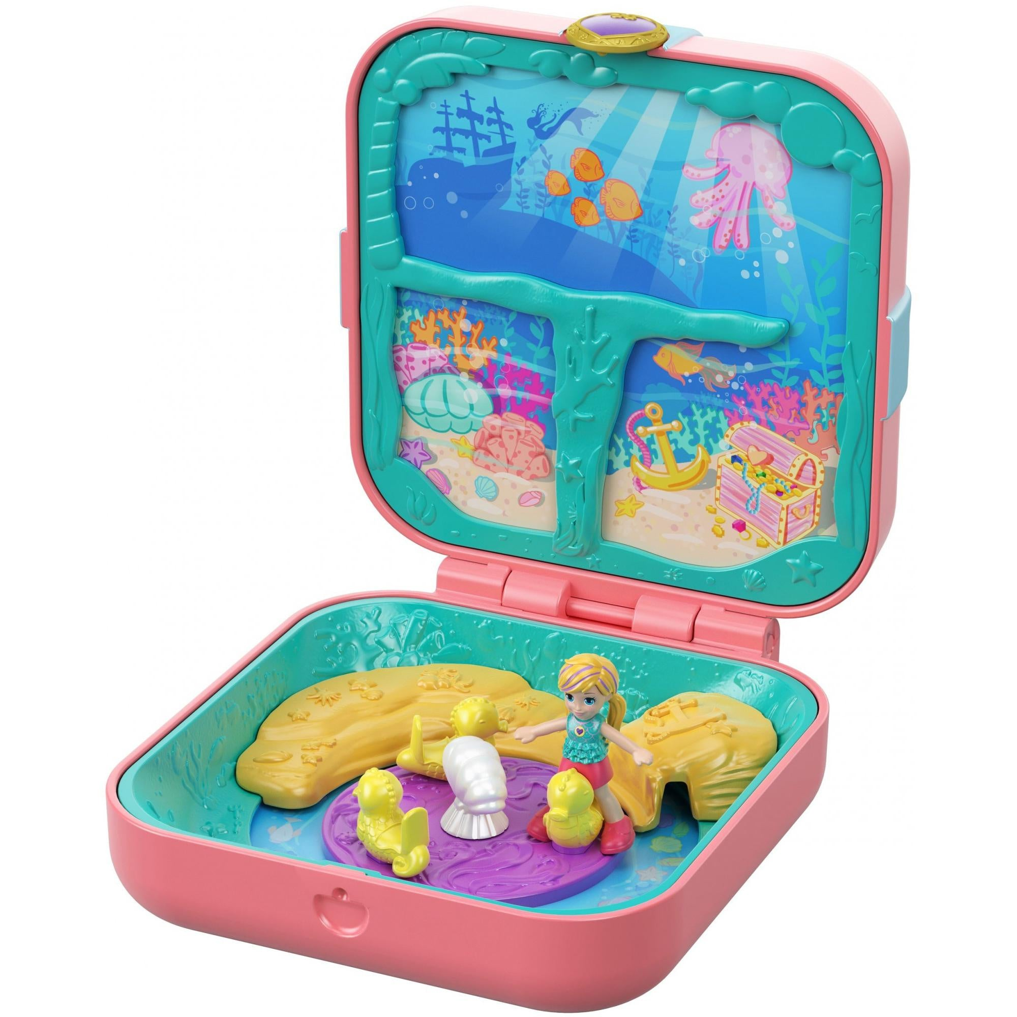 POLLY POCKET HIDDEN HIDEOUTS - MERMAID COVE