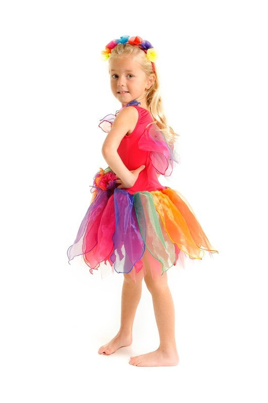 PIXIE FAIRY DRESS RAINBOW SMALL