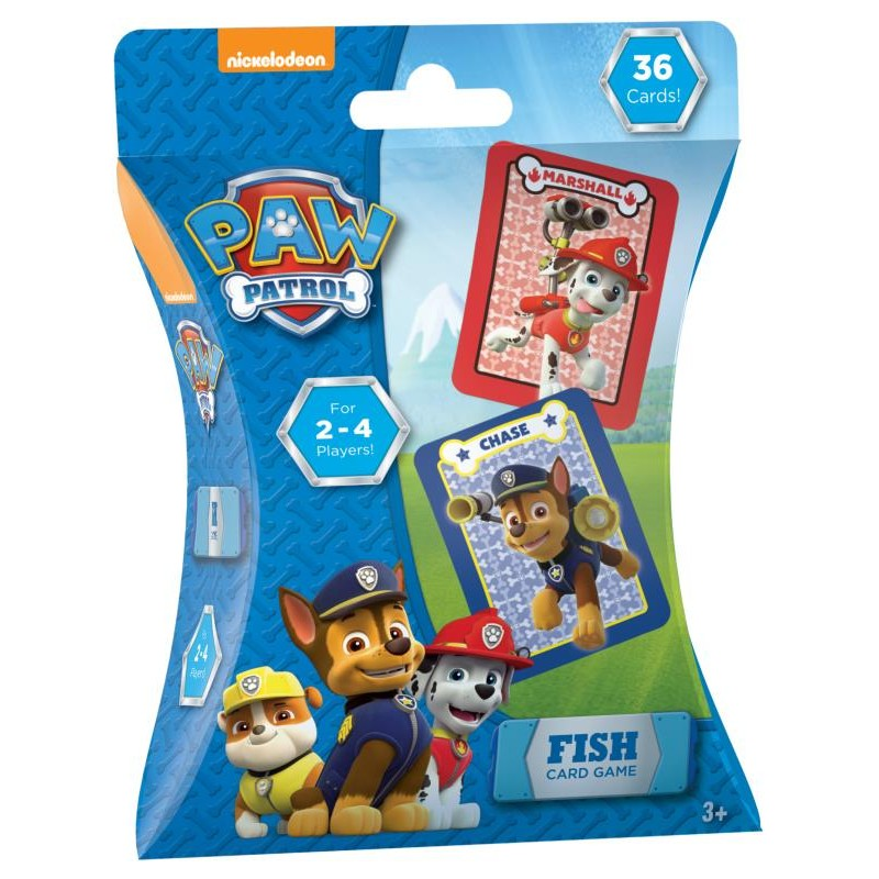 FISH CARD GAME PAW PATROL