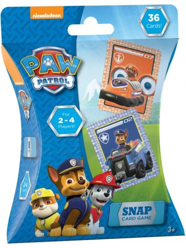 SNAP CARD GAME PAW PATROL | DISNEY | Toyworld Frankston