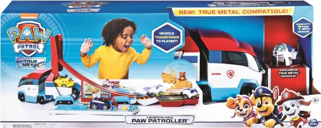 PAW PATROLLER DIE CAST CARRIER AND LAUNCHER
