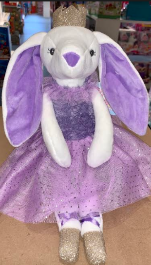 BUNNY PRINCESS PURPLE DRESS