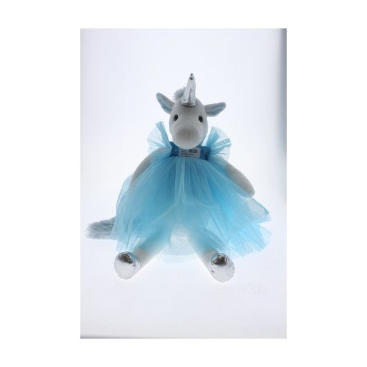 PLUSH BLUE UNICORN