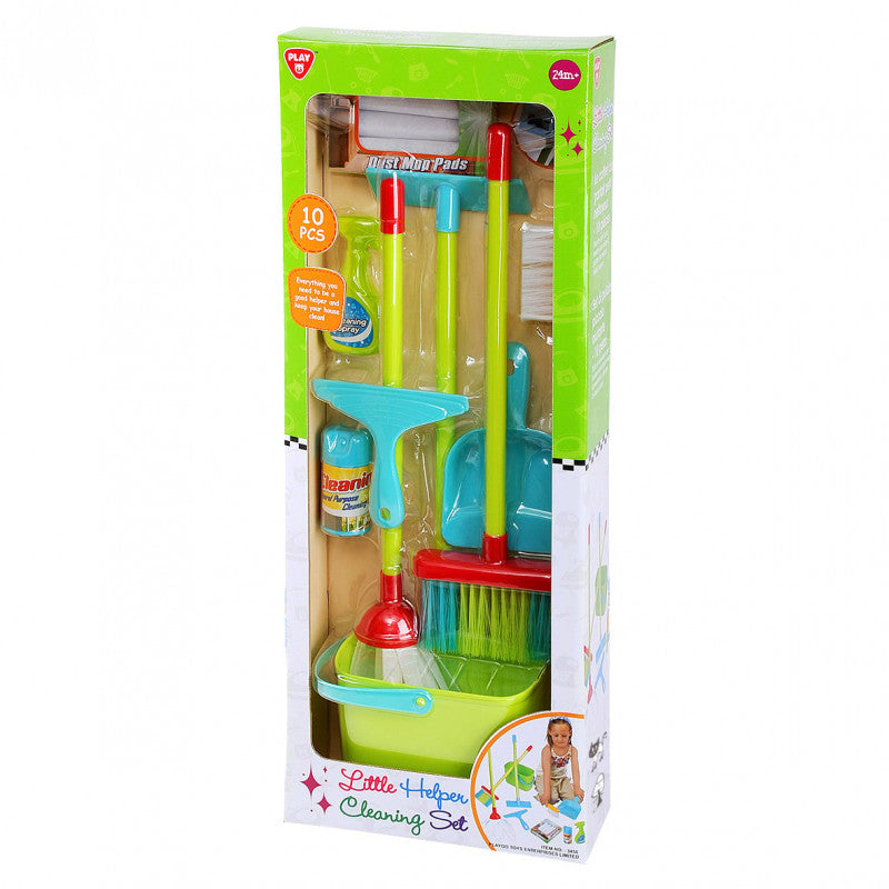 PLAYGO LITTLE HELPER CLEANING SET 10 PCS