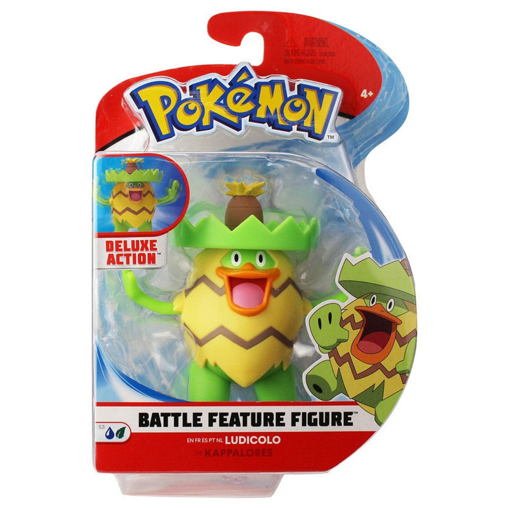 POKEMON BATTLE FIGURE FIGS ASST LUDICOLO