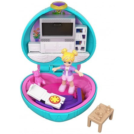POLLY POCKET TINY POCKET WORLD - LIVING ROOM