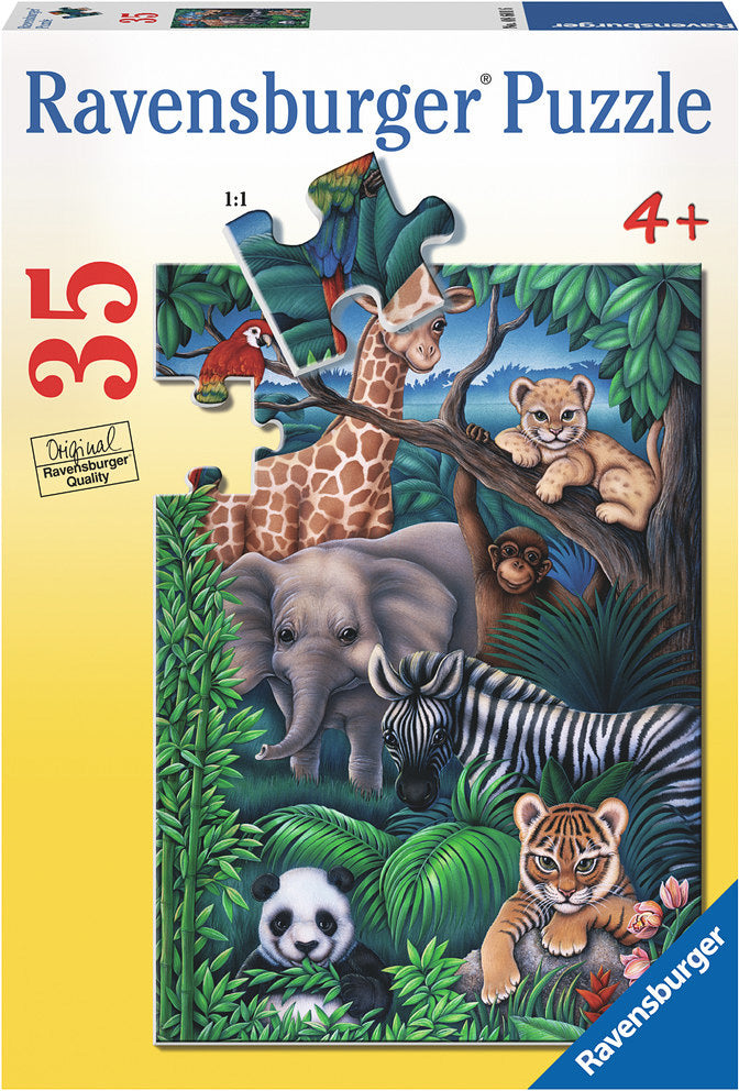 RBURG ANIMAL KINGDOM PUZZLE 35 PC