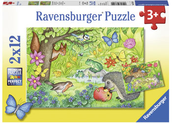 RBURG ANIMALS IN OUR GARDEN PUZZLE